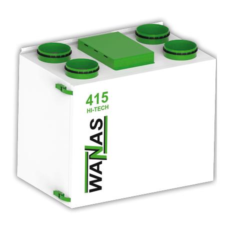 Rekuperator Wanas Hi-Tech 415V-E entalpiczny