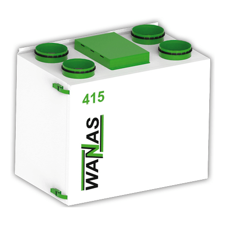 Rekuperator Wanas Basic 415V