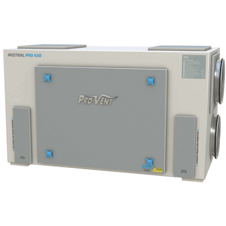 Rekuperator Pro-Vent Mistral Pro 550 EC